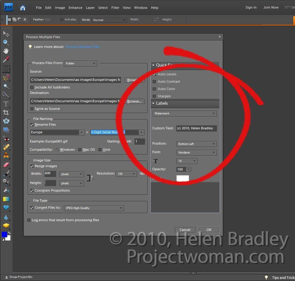 Batch-Resising-Photoshop-Elements-step6