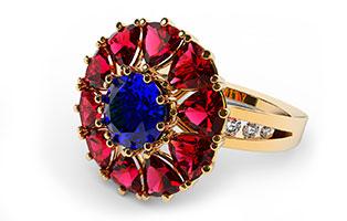 RhinoGold pre Rhino je plugin pre profesionálne využitie zlatníkov a šperkárov. Modelovanie prsteňov, drahých kameňov a ich osadzanie.