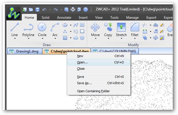 ZWCAD+ full screenshot